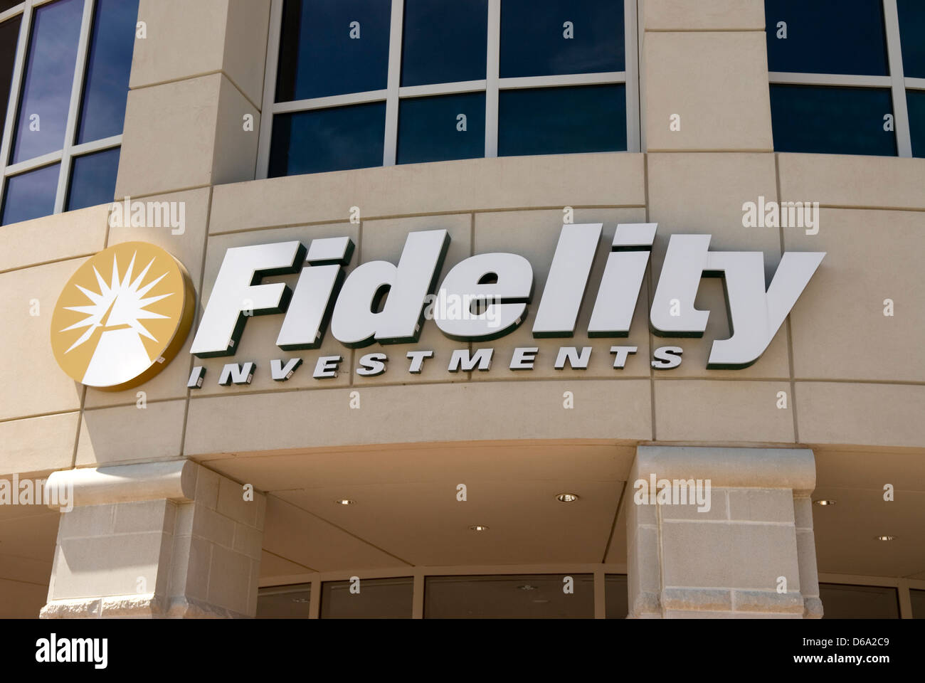 Fidelity Investments Greenville South Carolina  USA - Stock Image