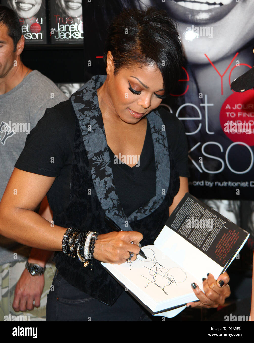 Janet Jackson signs copies of her new book 'True You' Los