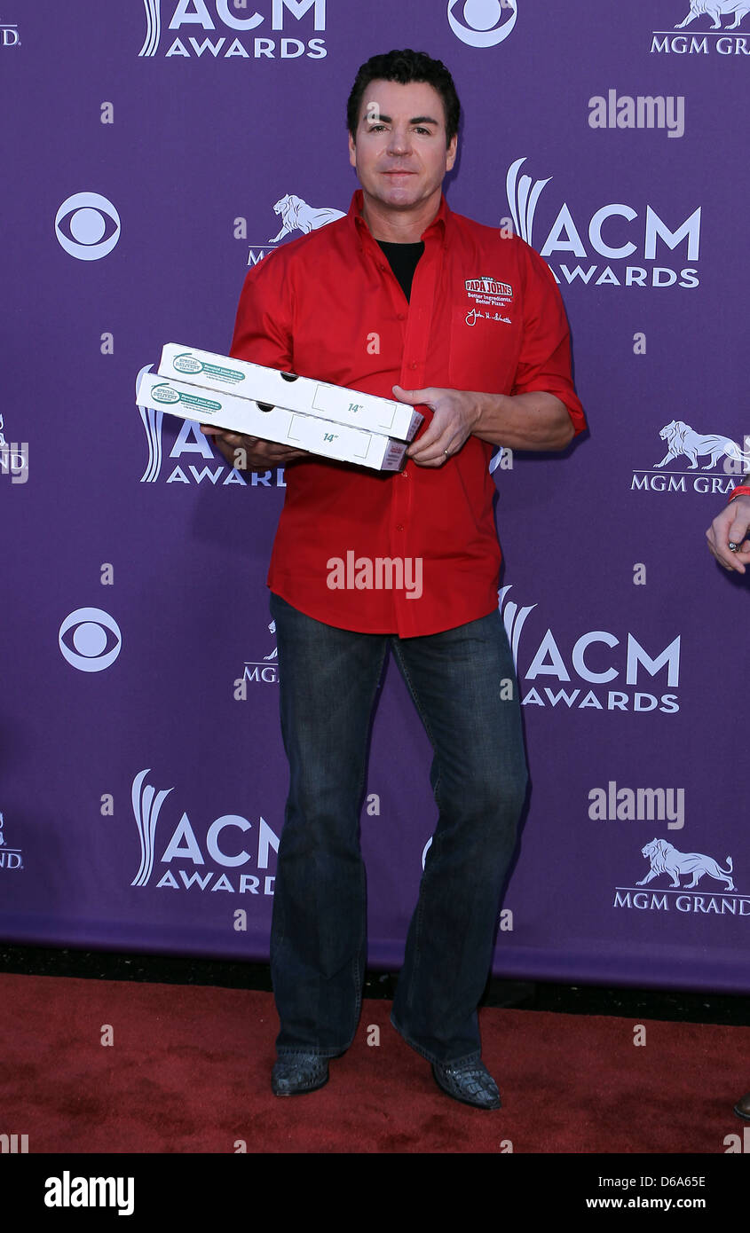 Papa John Schnatter 2012 Acm Awards Academy Of Country Music Awards At The Mgm