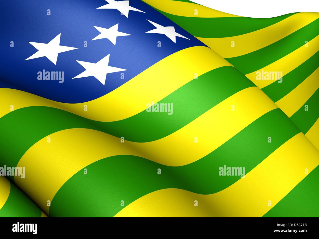 Flag of Goias - Stock Image