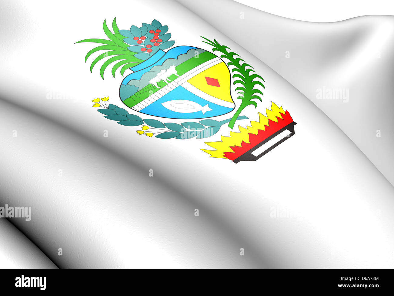Goias coat of arms - Stock Image