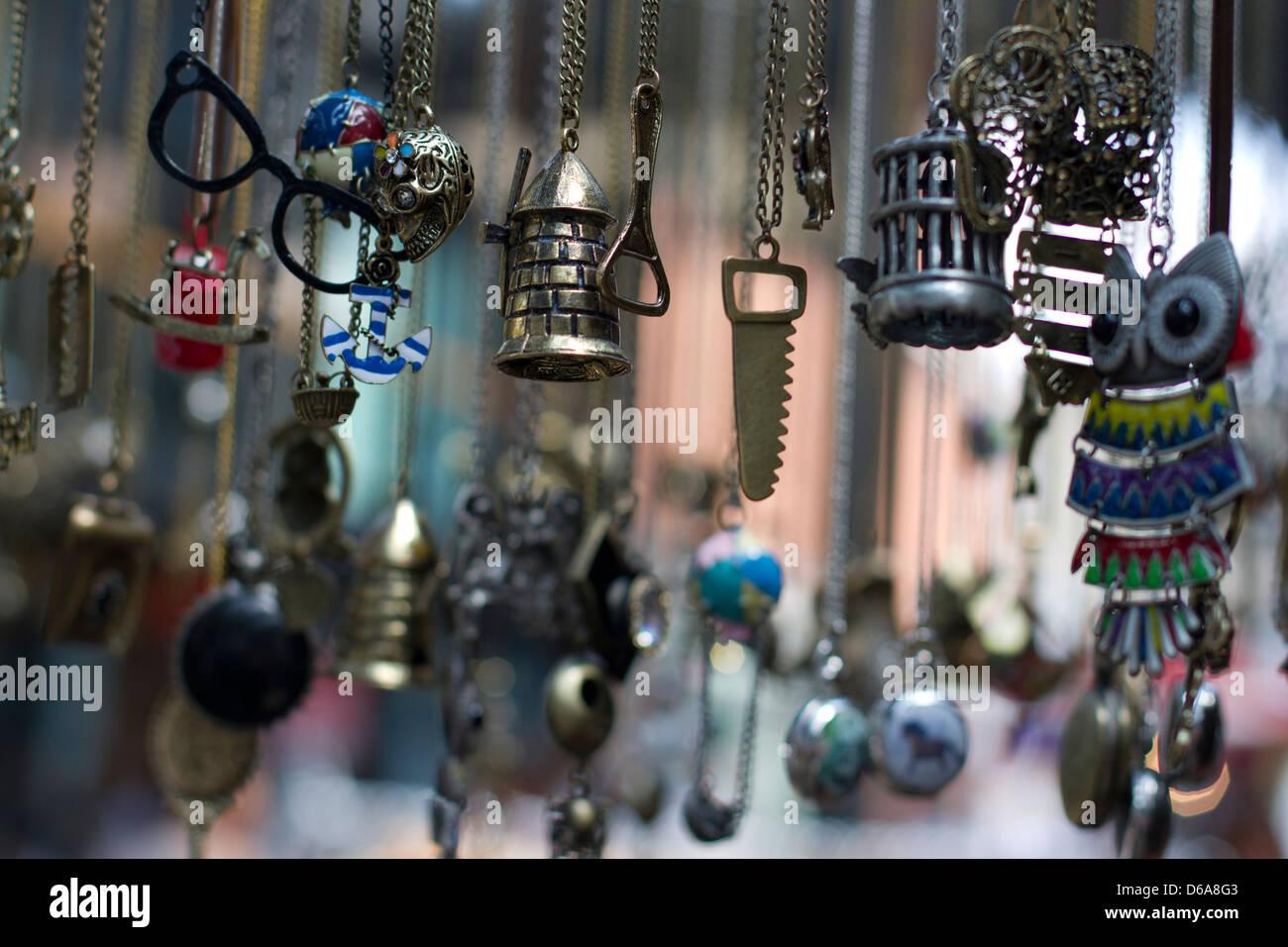 Costume Jewelry - Stock Image