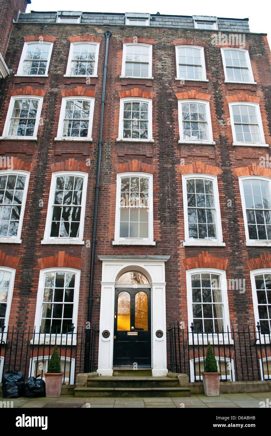 House on Gray's Inn Square, London, UK - Stock Image