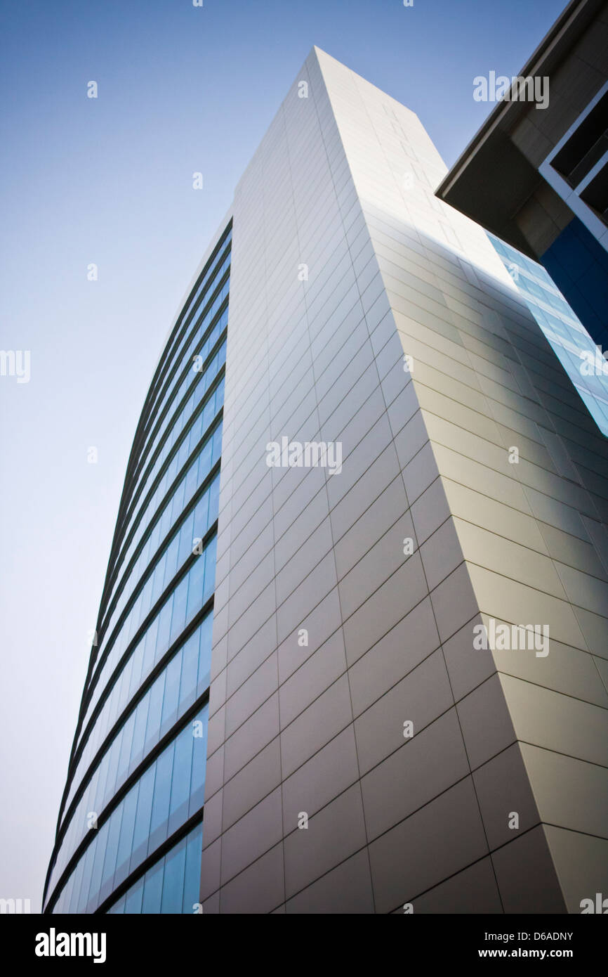 The Blade at 128 metres (420 ft) high is the tallest building in Reading, Berkshire, England. - Stock Image
