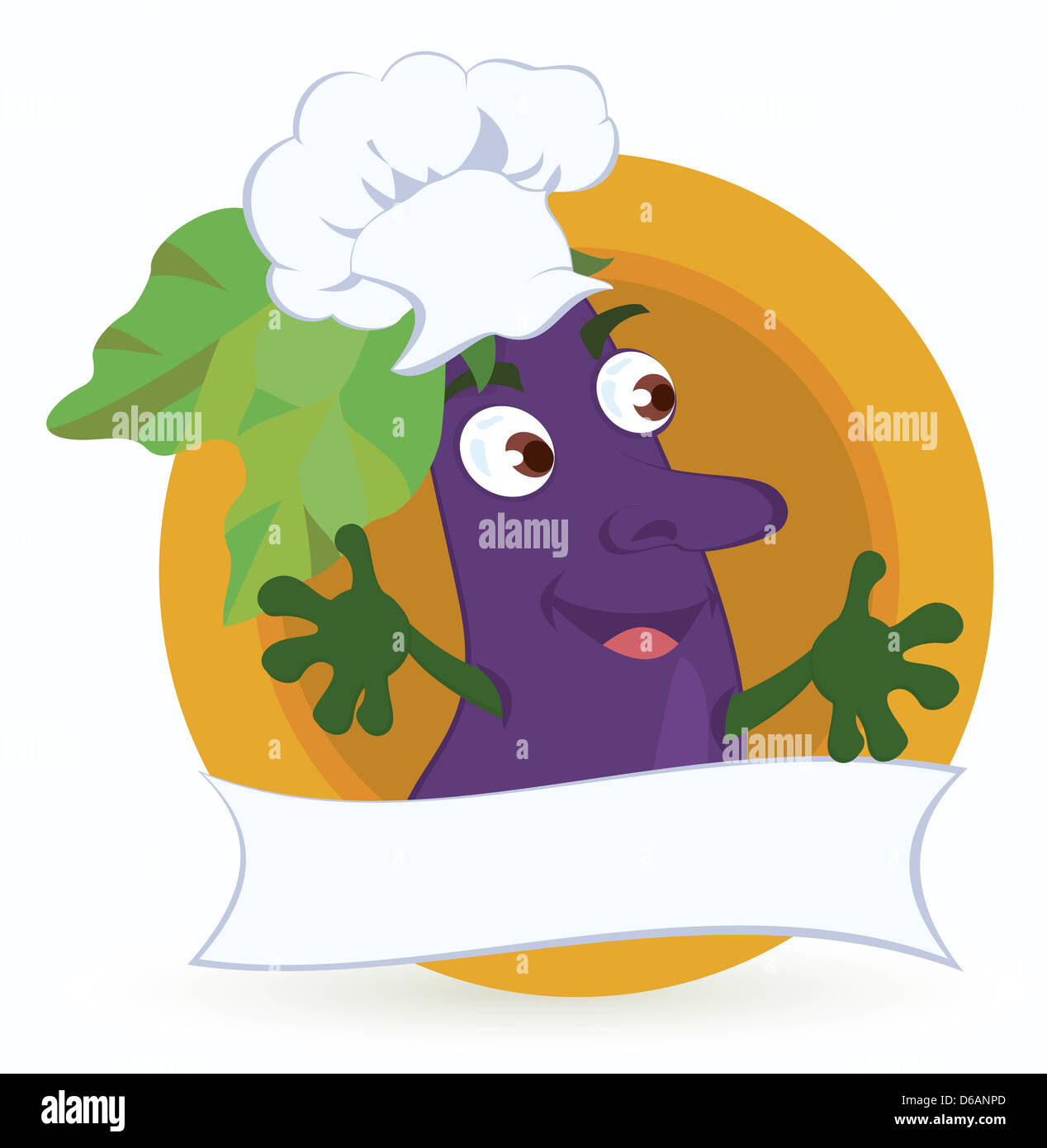 5523d0e35a Eggplant Cartoon Character Stock Photos & Eggplant Cartoon Character ...