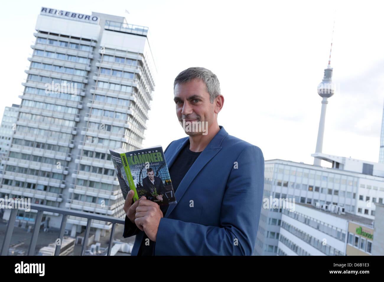 Writer Wladimir Kaminer presents his new novel 'Onkel Wanja kommt. Eine Reise durch die Nacht' ('Uncle - Stock Image