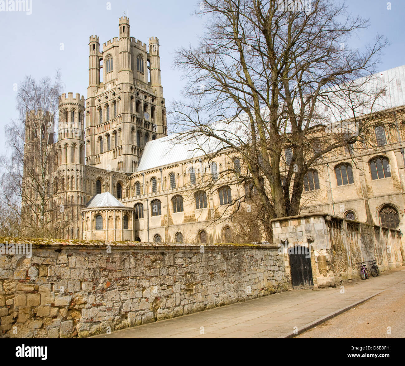Ely cathedral, Cambridgeshire, England - Stock Image