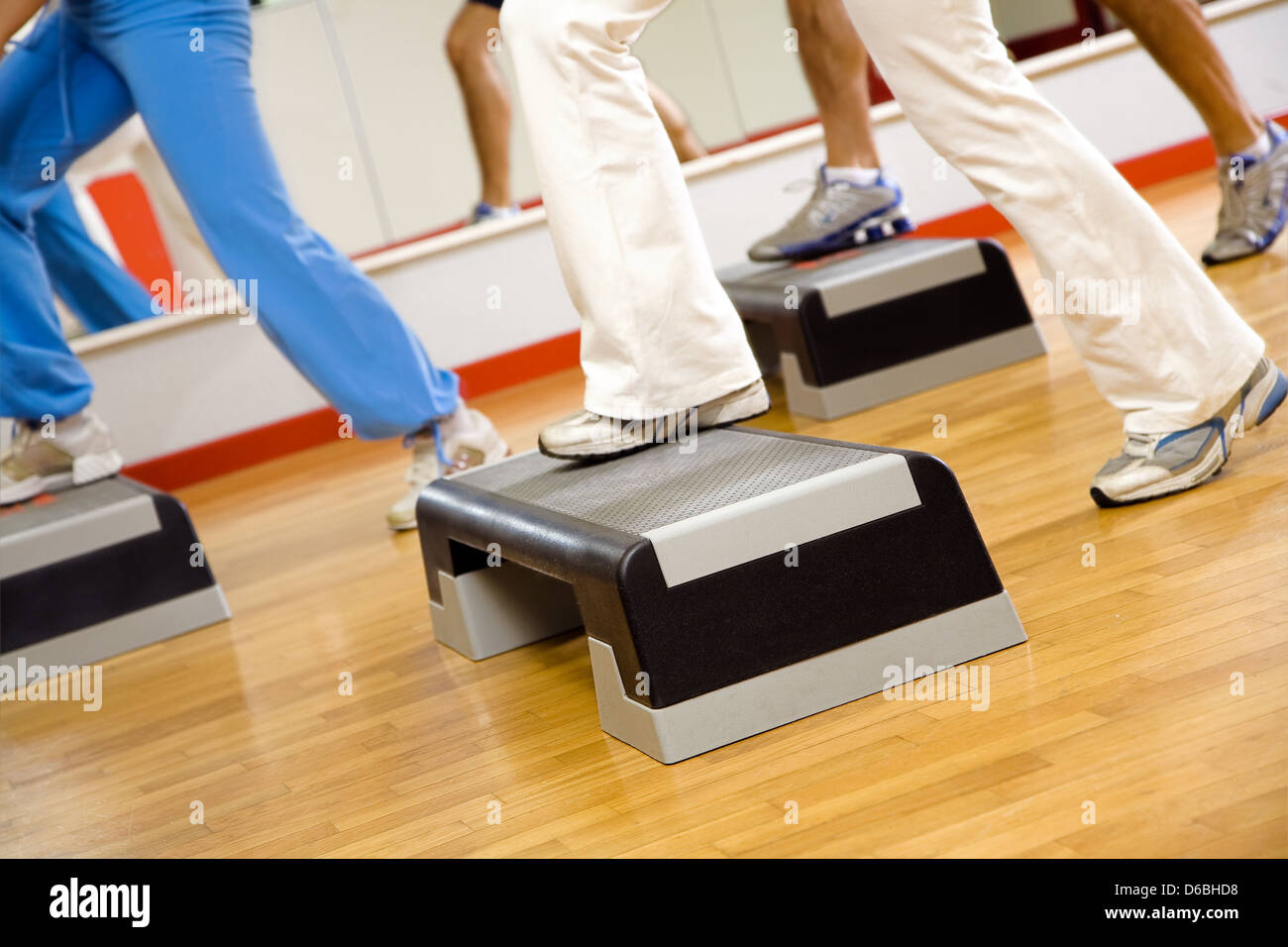Aerobics Steps Stock Photos Aerobics Steps Stock Images Alamy