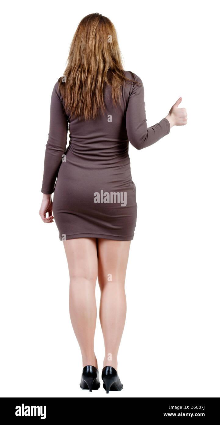 Back woman on Jen Psaki