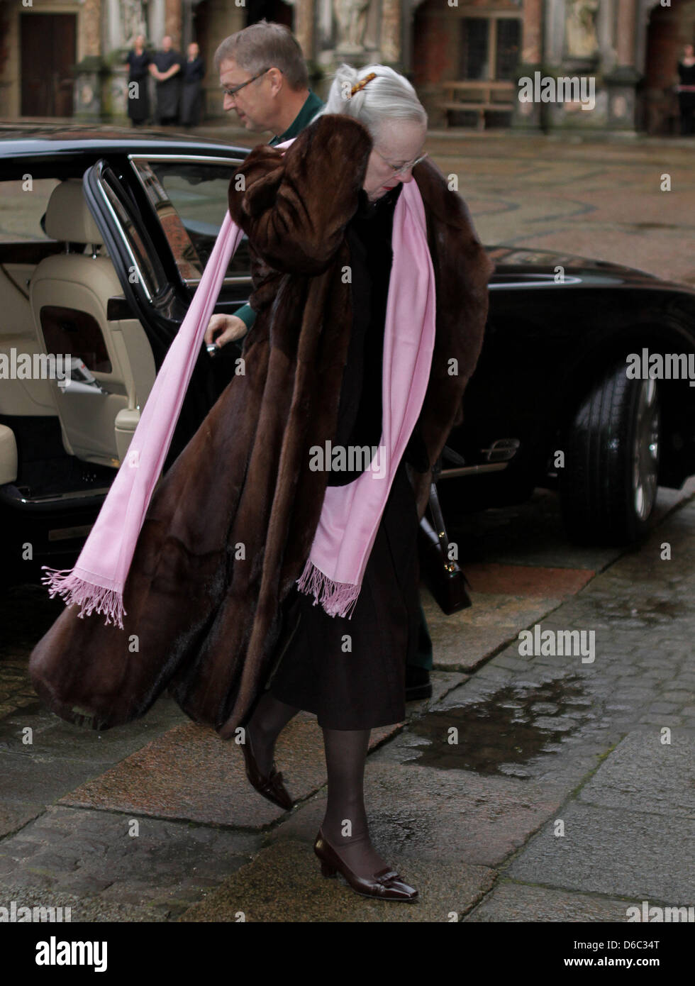 815f2f5bc79 Queen Margrethe II. of Denmark attending the exhibition at Frederiksborg  Castle in Hillerød to mark Queen Margrethe s 40-year anniversary as regent,  ...