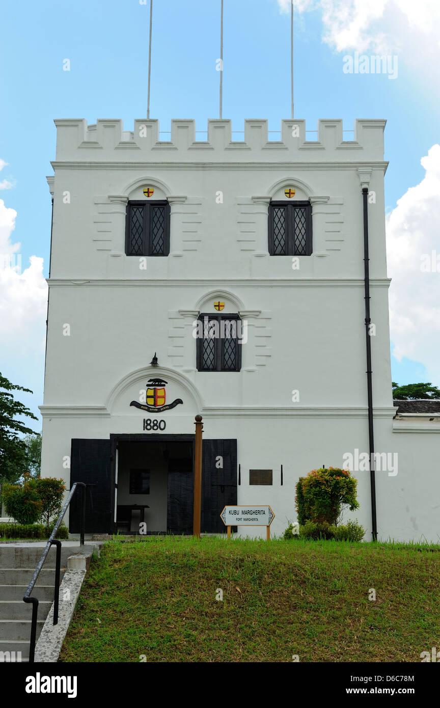 Fort Margherita in Kuching, Sarawak, Borneo - Stock Image