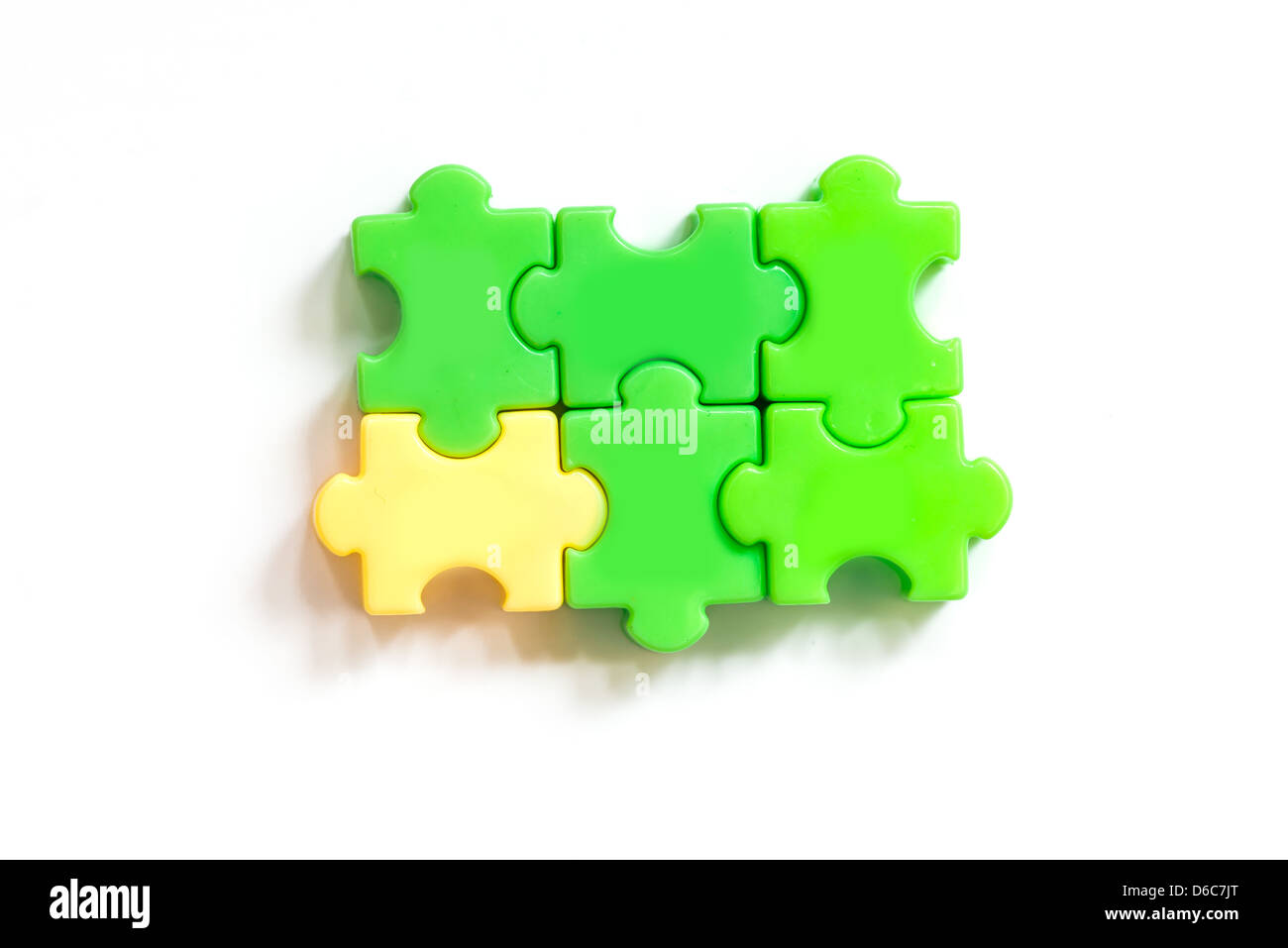 Odd one out - Stock Image