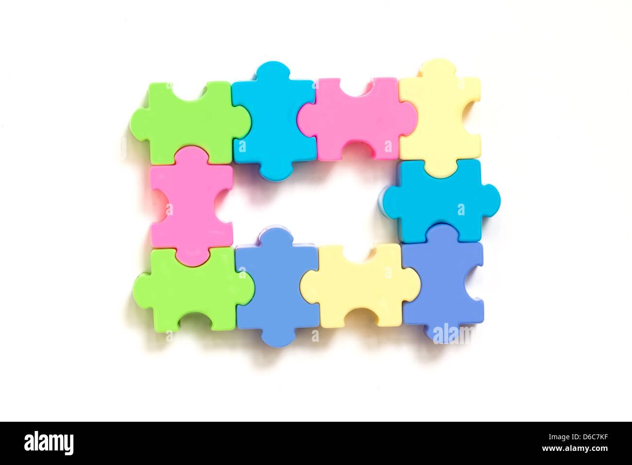 mixed team - Stock Image