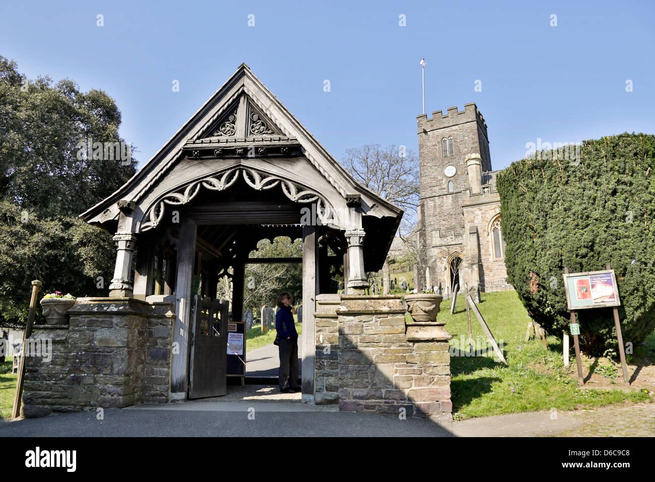 All Saints Church; Dulverton; Somerset; UK - Stock Image