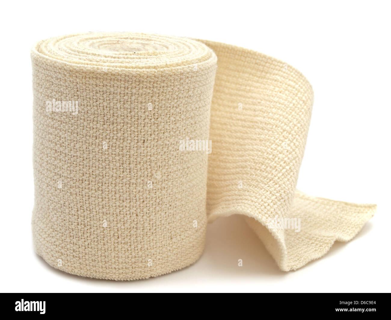 elastic bandage - Stock Image