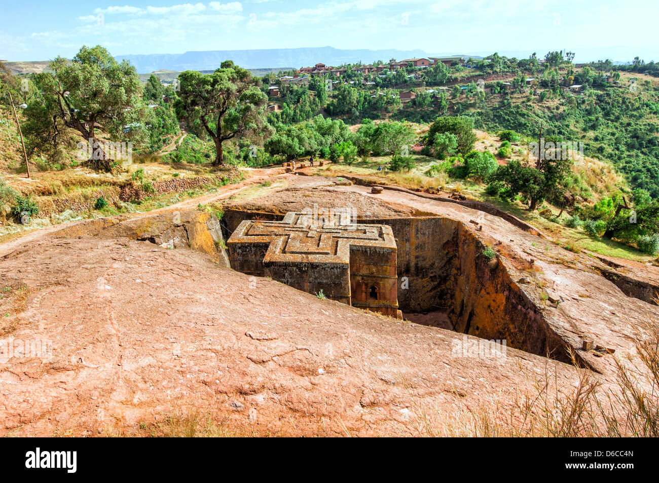 Lalibela, Amhara region, Northern Ethiopia - Stock Image