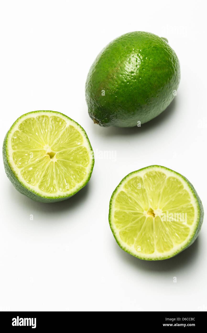 Limes citrus fruit - Stock Image