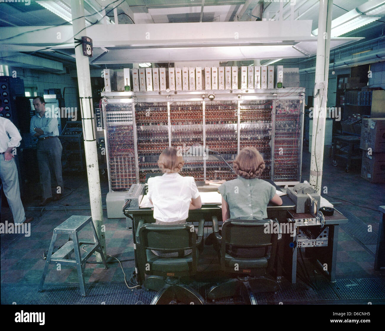 MANIAC-I - Nov 1952 - Stock Image