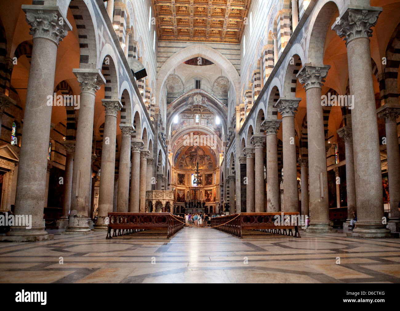 Indoor Miracoli Square of Miracles, Pisa - Stock Image