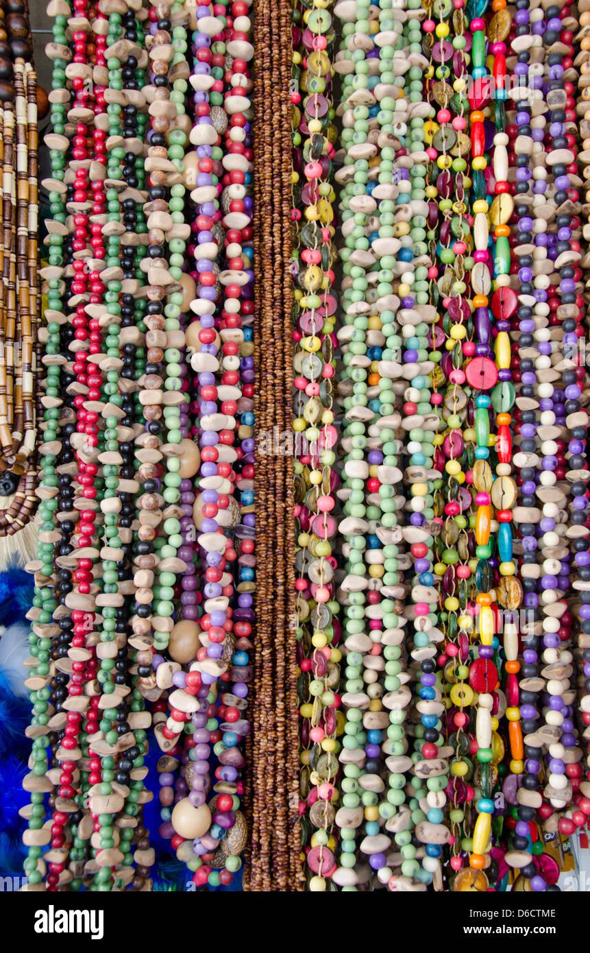 Brazil Amazon Manaus Typical Brazilian Souvenir Handicrafts Stock