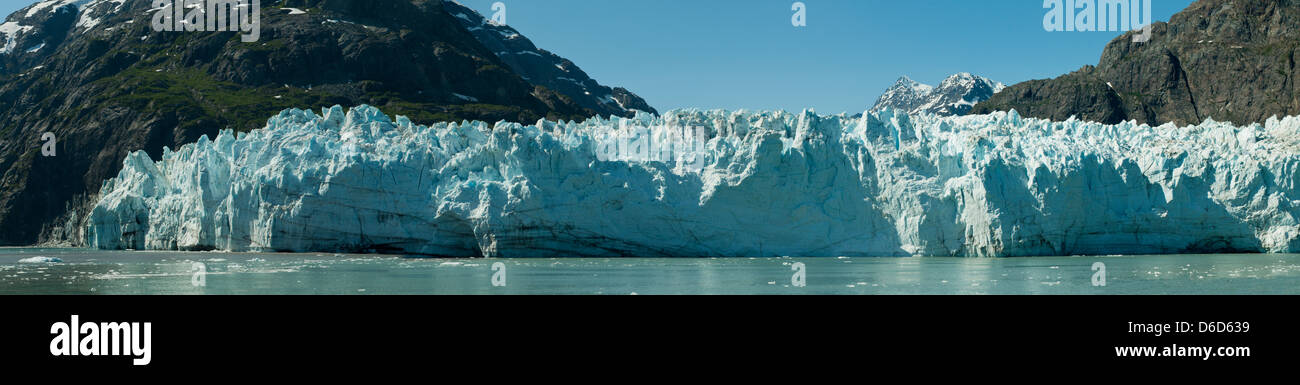 John Hopkins Glacier, Glacier Bay, Alaska, USA - Stock Image