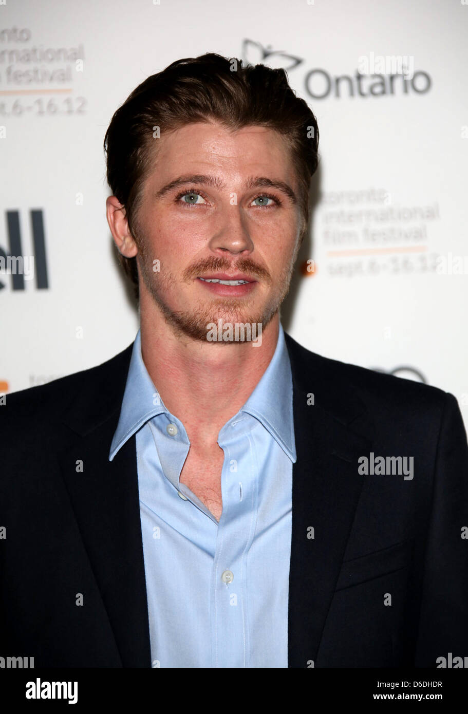 "Actor Garrett Hedlund arrives at the premiere of ""On The ..."