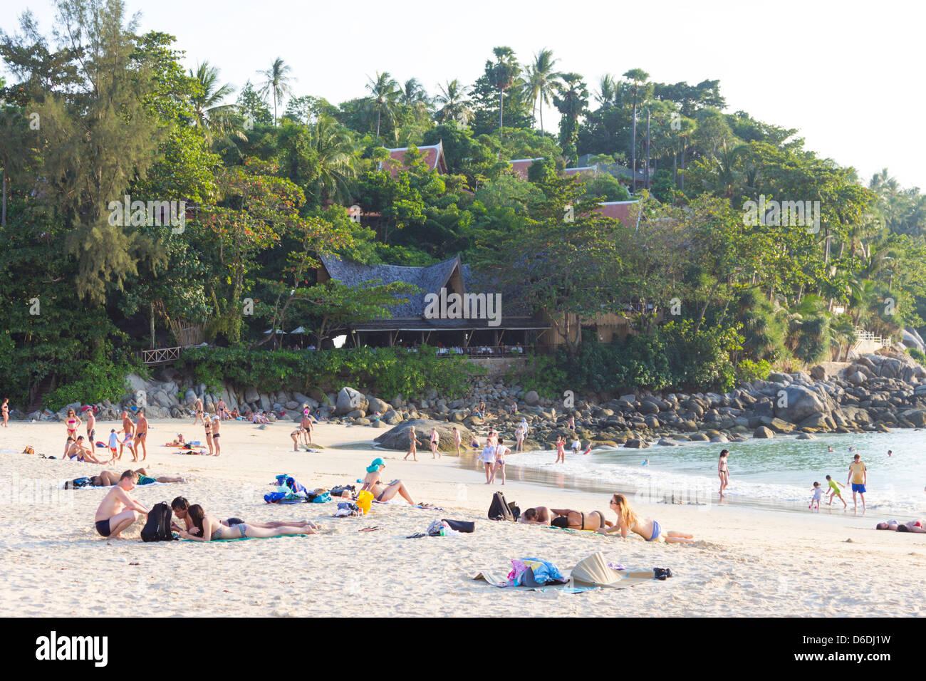 Karon beach - Phuket - Thailand - Stock Image