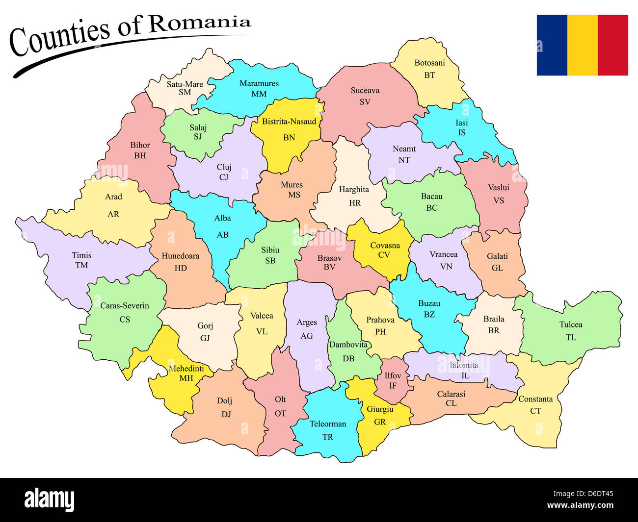 Bucharest Romania Europe Map Cut Out Stock Images & Pictures - Alamy