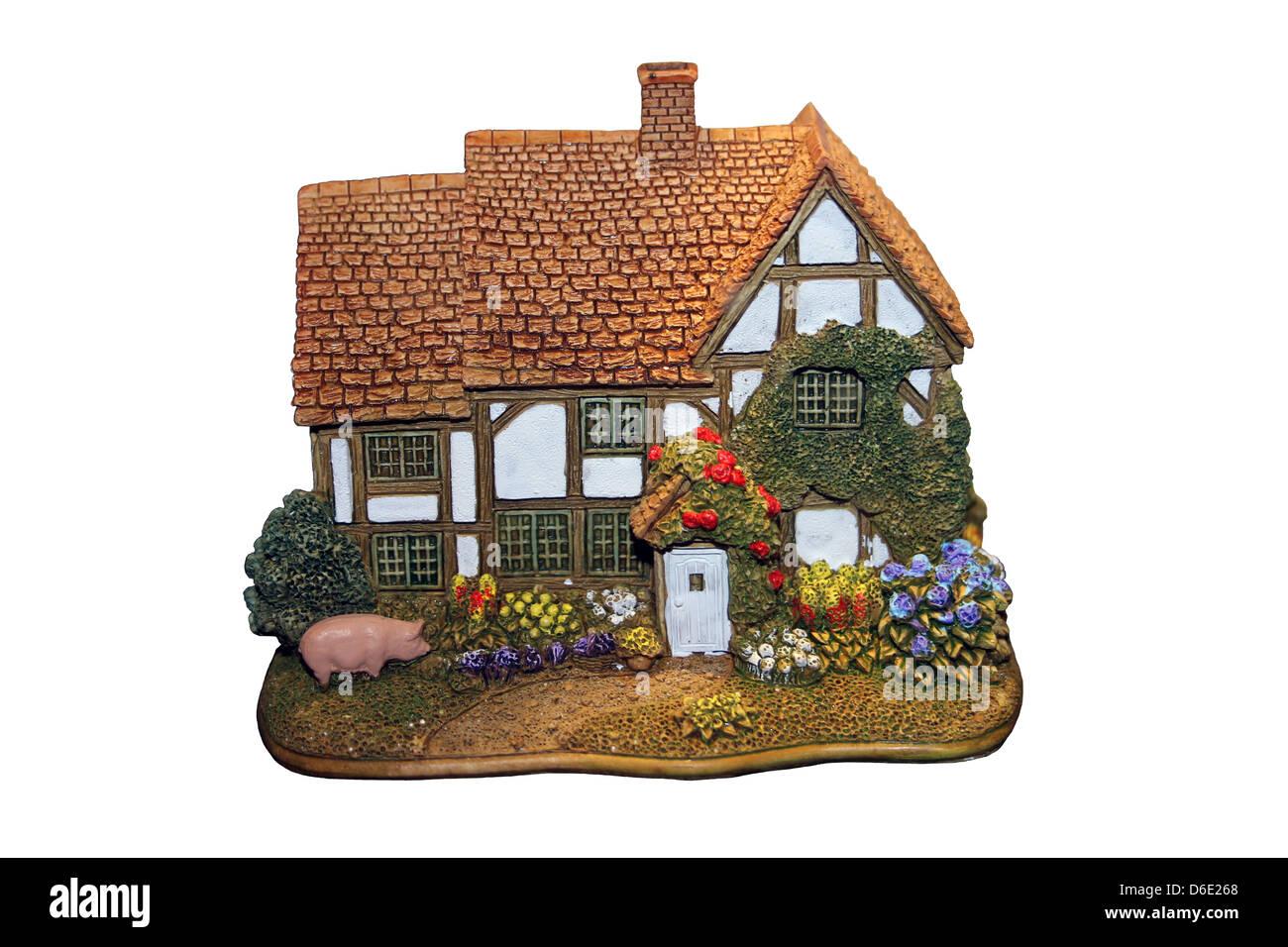 Lilliput Lane Sage Cottage - Stock Image