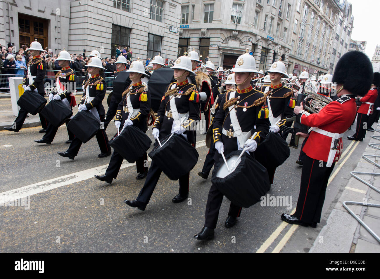 join students bands marines royal hm news northern of band collingwood