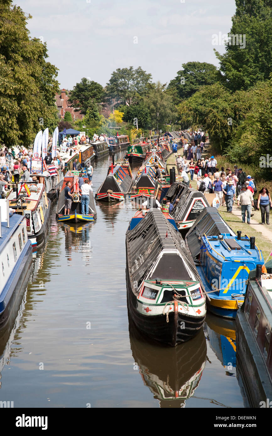 Inland Waterways Association National Rally, Shardlow, Trent and Mersey Canal,England, 2011 - Stock Image