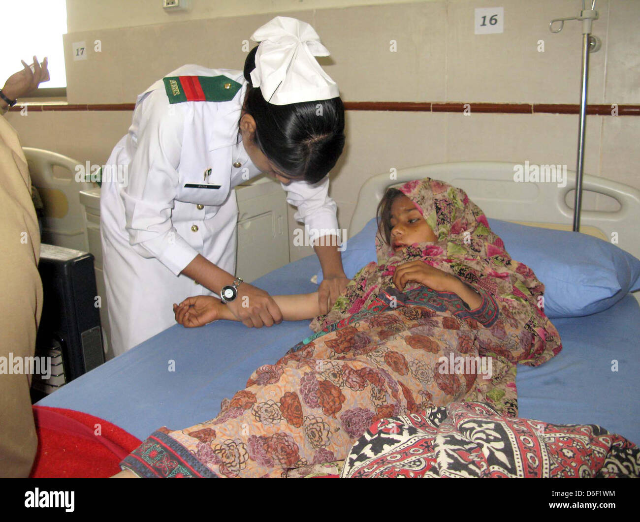 Victims of Mashkal Earthquake who were evacuated by Pak-Army
