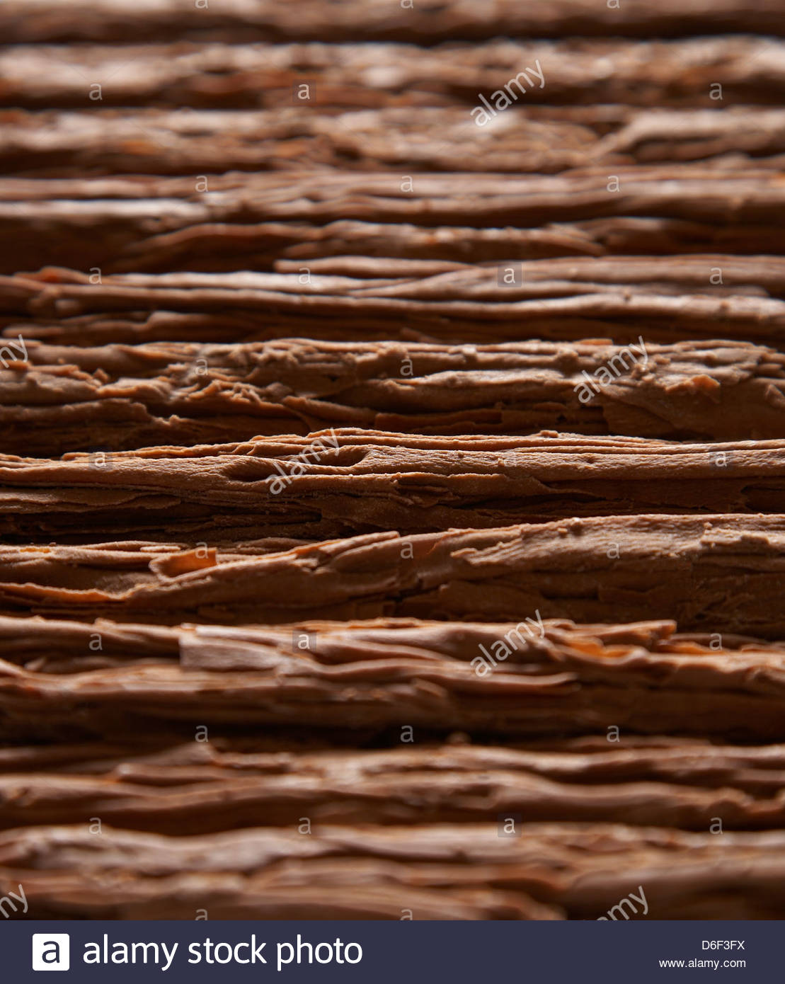 Chocolate Flake sticks - Stock Image