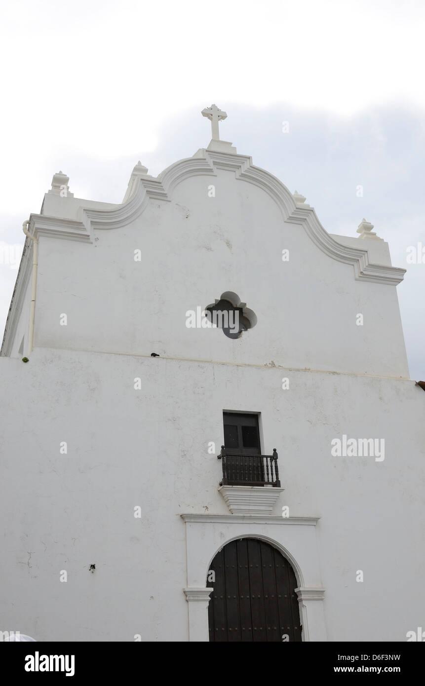 San Jose Church in Old San Juan, Puerto Rico - Stock Image