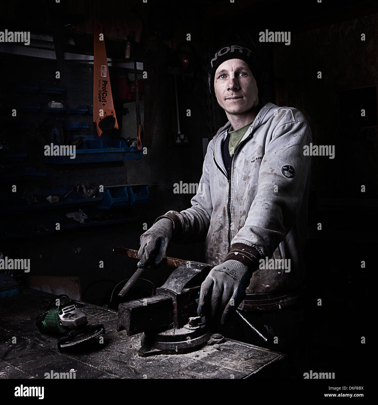 The locksmith - Stock Image
