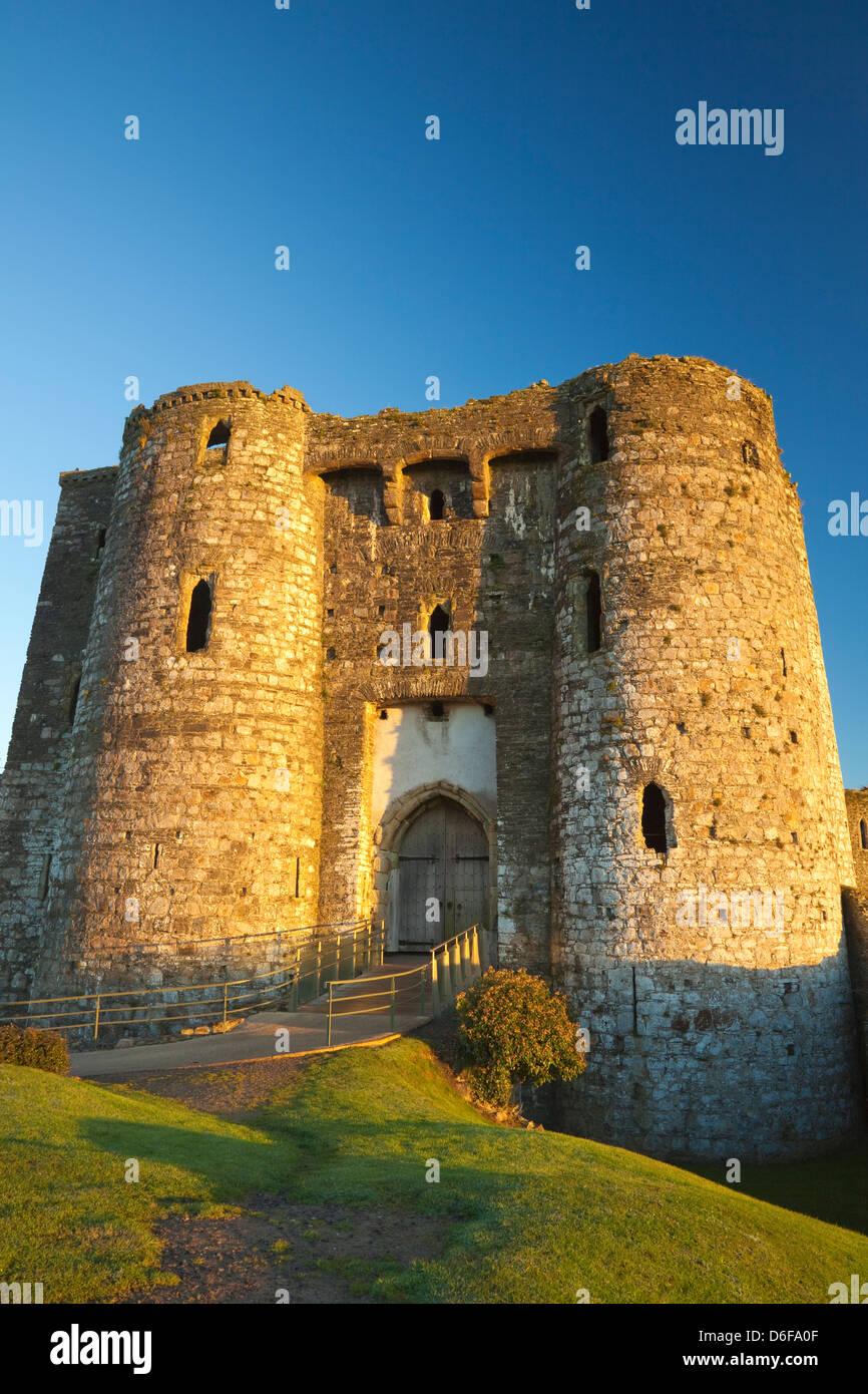 Kidwelly Castle, Carmarthenshire, Wales, U.K. - Stock Image