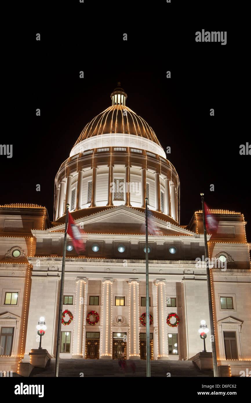 Arkansas state capitol dome stock photos arkansas state capitol arkansas state capitol in little rock arkansas usa stock image malvernweather Gallery
