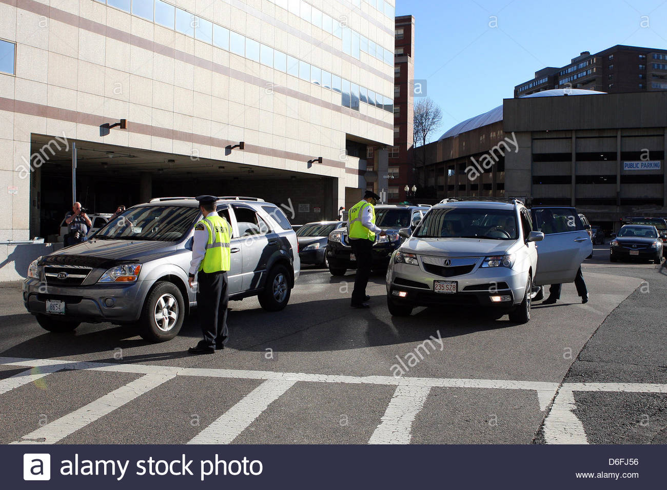 April 17, 2013   Boston, Massachusetts, United States   TD Garden Security  Personnel