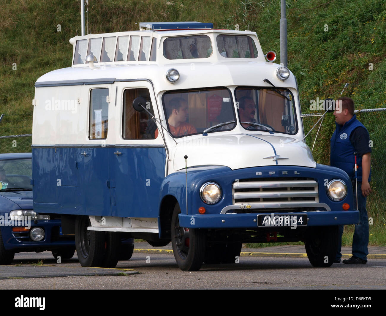 8 Opel Blitz camper Stock Photo - Alamy