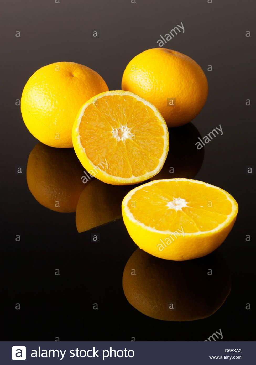 Fresh Oranges - Stock Image