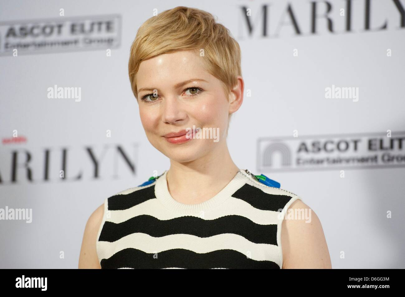a2cc0811edd US actress Michelle Williams presents her new movie  My Week With Marilyn   at the Hotel Adlon in Berlin