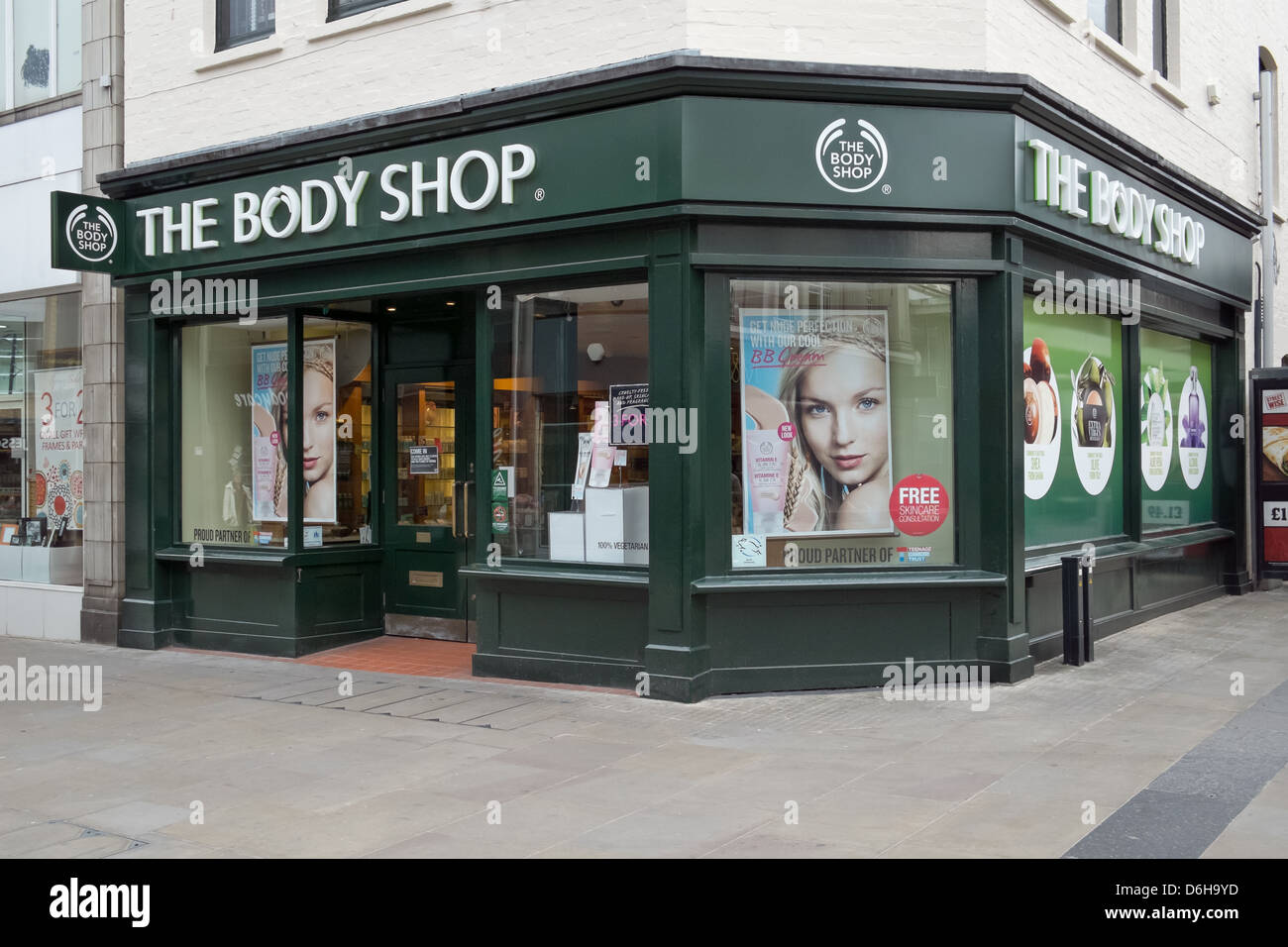 A branch of Body Shop, UK - Stock Image