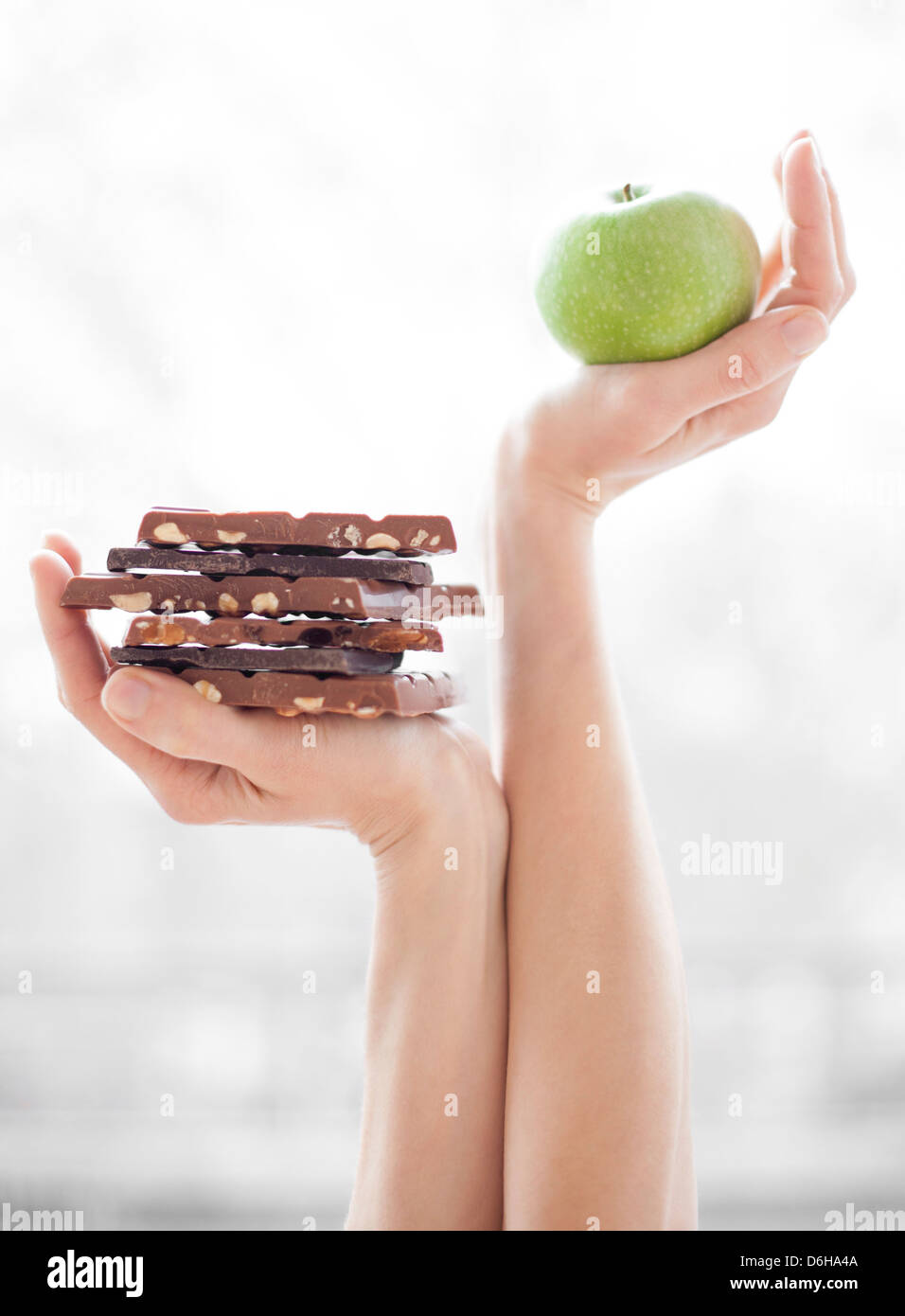 Balanced diet, conceptual image - Stock Image