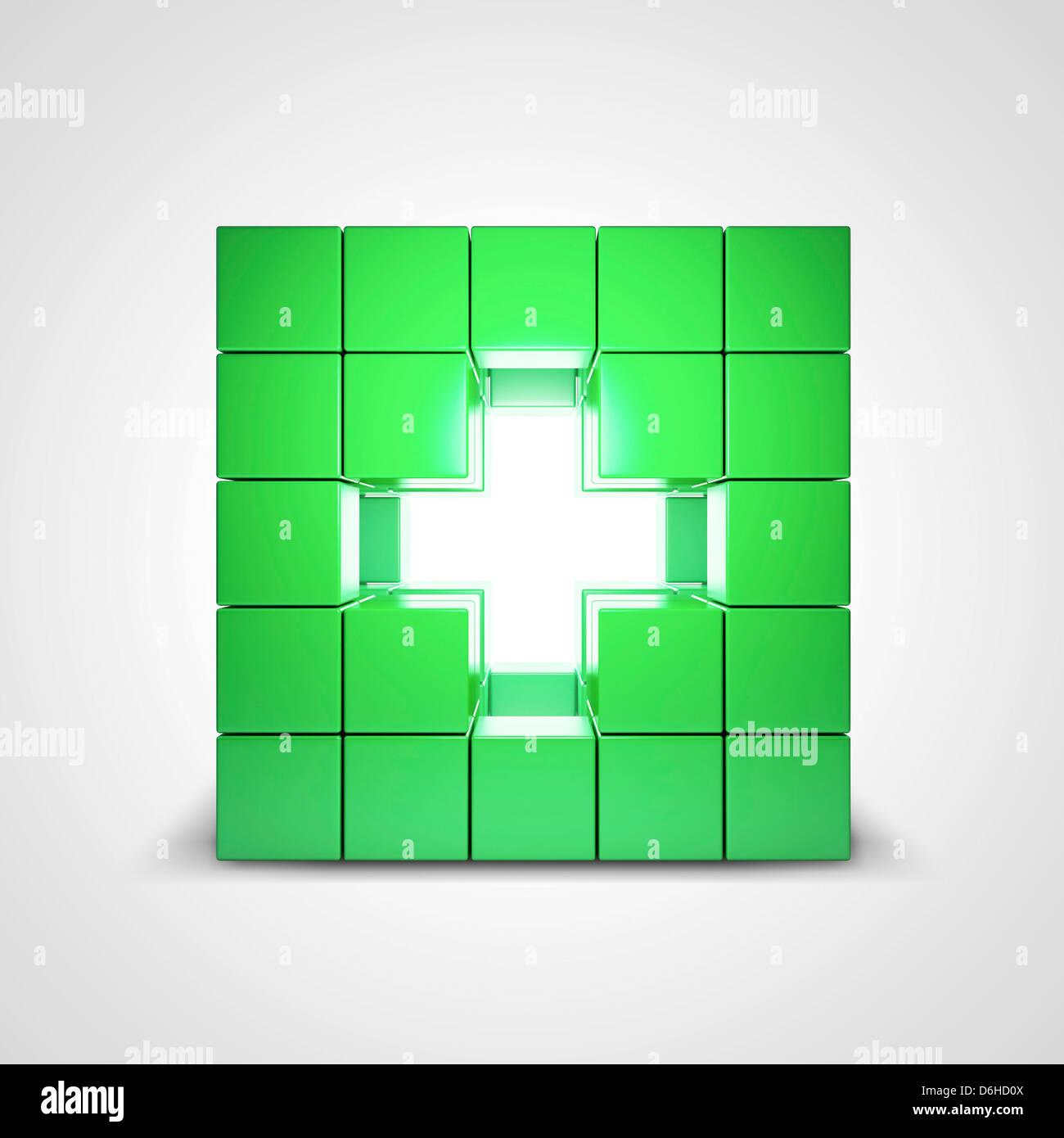 Healthcare, conceptual artwork - Stock Image