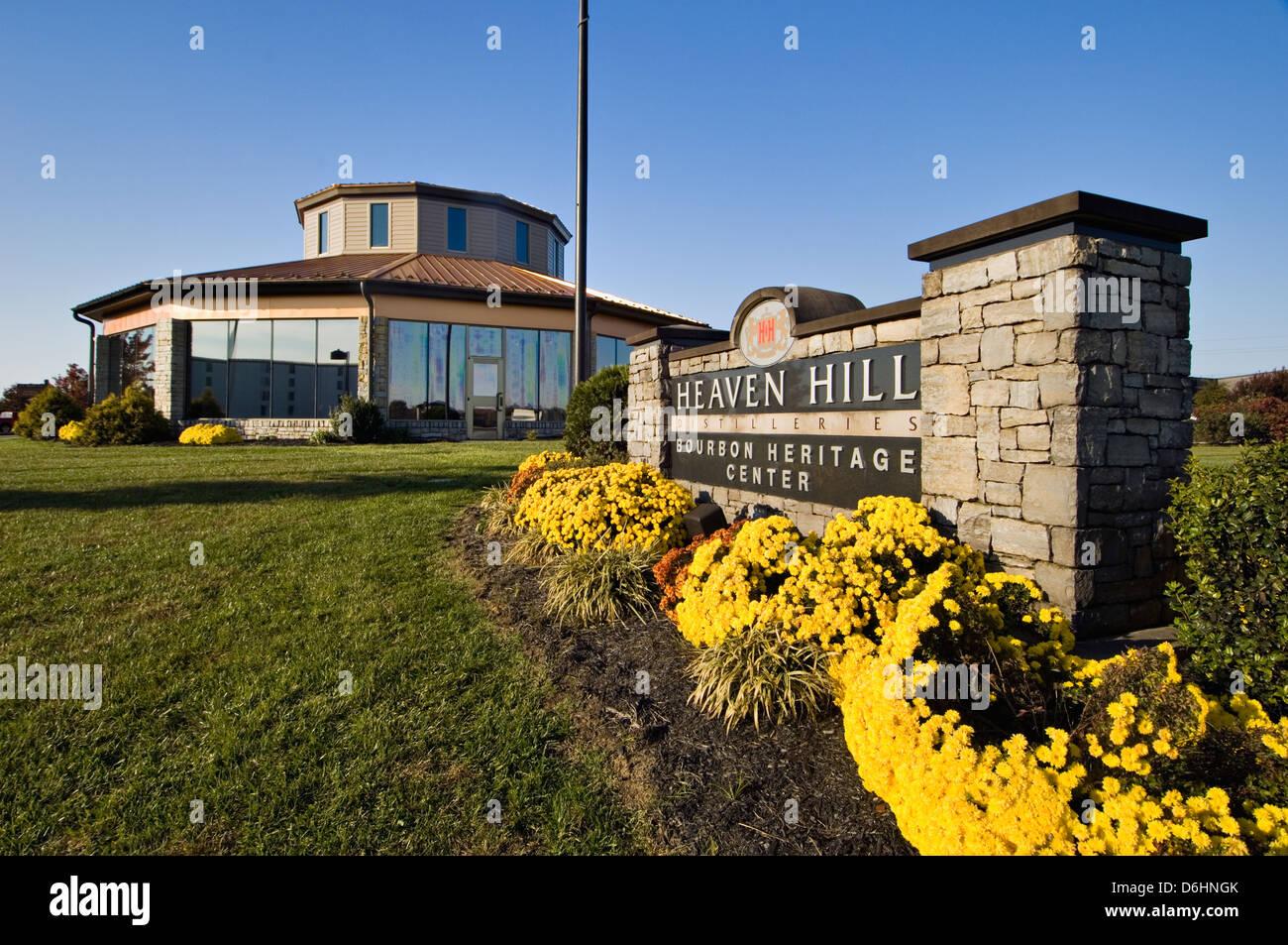 Heaven Hill Distilleries Bourbon Heritage Center in Bardstown, Kentucky - Stock Image