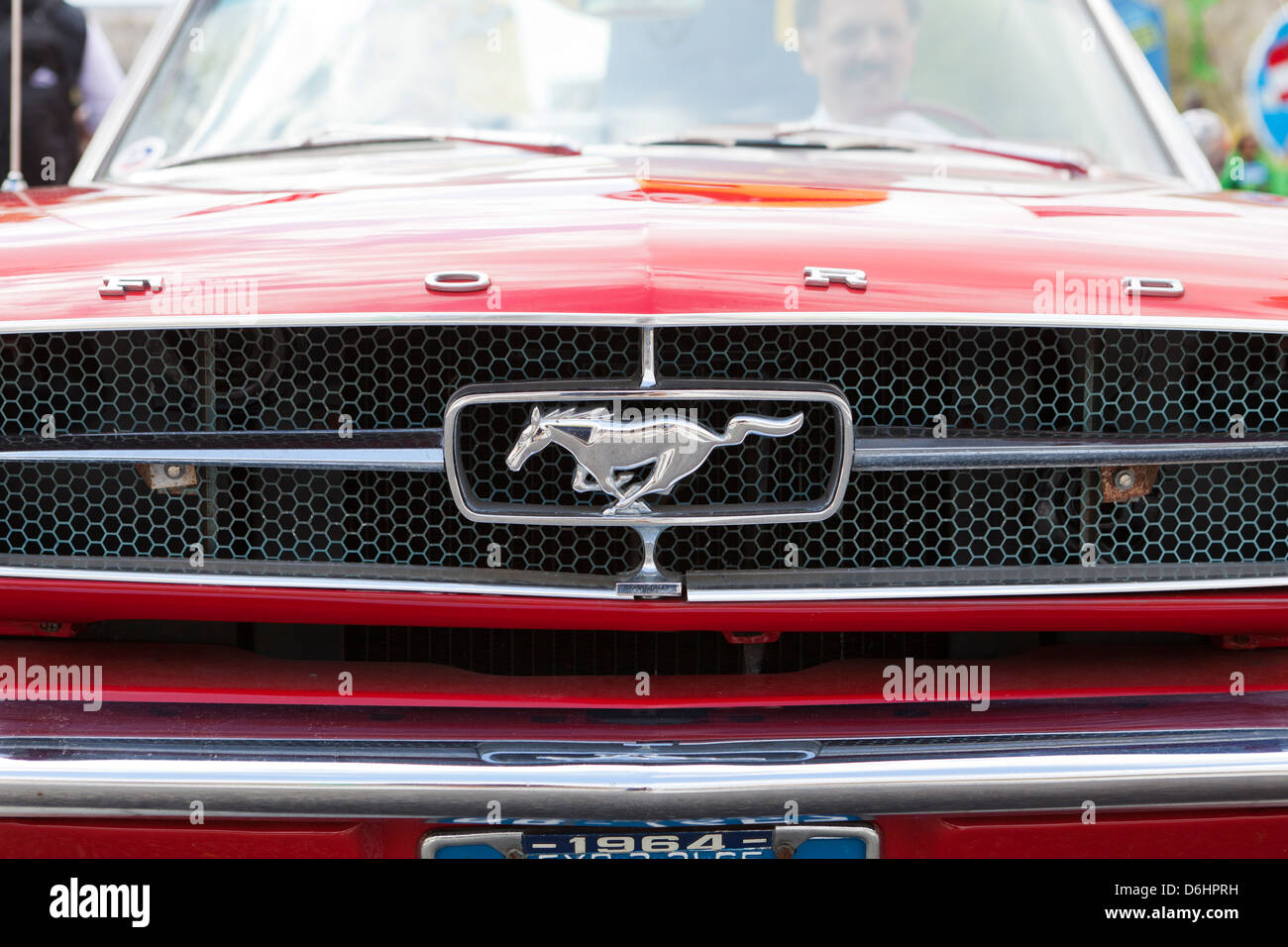 Super Ford Mustang Logo Stock Photos & Ford Mustang Logo Stock Images  JQ15