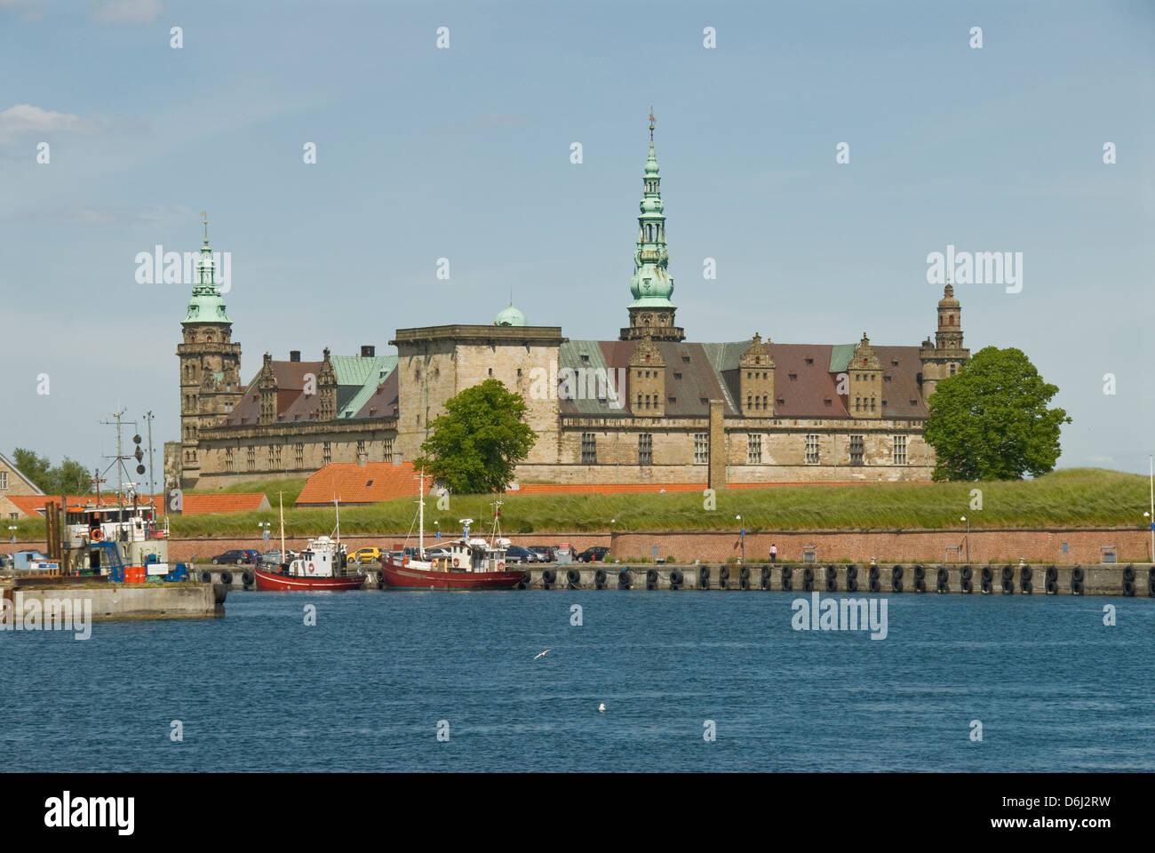 Kronborg Slot, Helsingor, Denmark - Stock Image