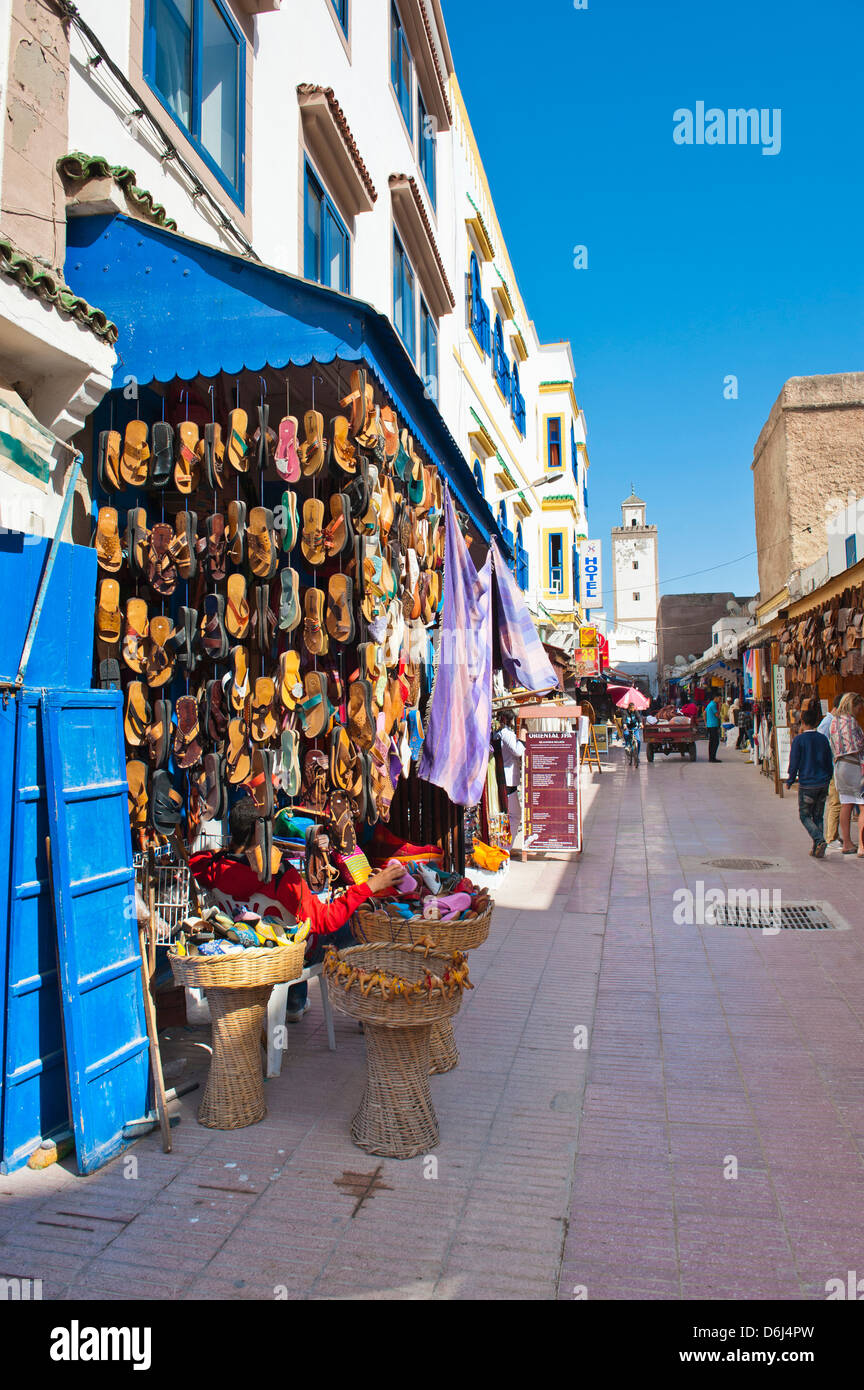 Market stall in Essaouira, formerly Mogador, UNESCO World Heritage Site, Morocco, North Africa, Africa Stock Photo