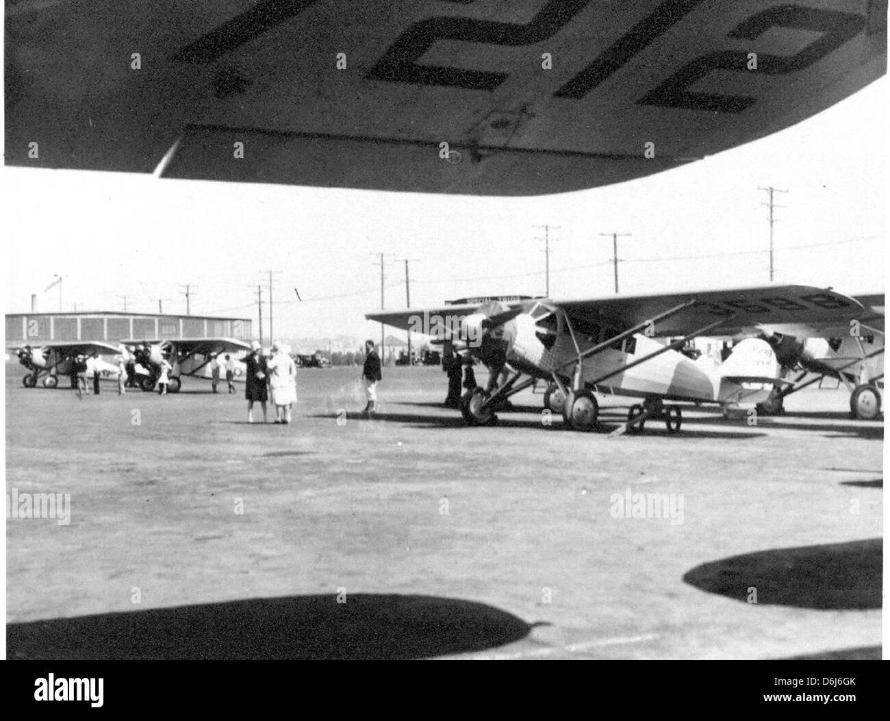 04-00959 Ryan B-1 Bourgham c. 1928 - Stock Image
