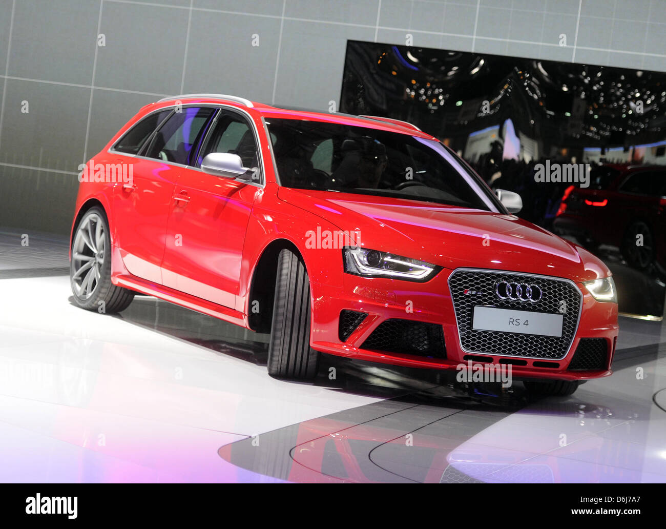 The New Audi A4 Rs Avant Is Presented During The First Press Day Of